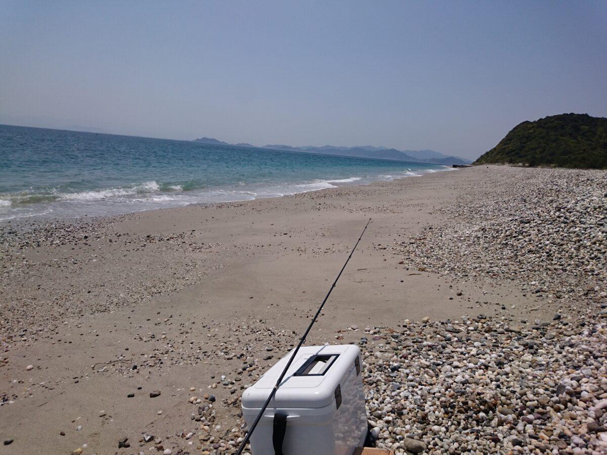 2017GWはじまり阿万海岸海水浴場でガシラ釣り