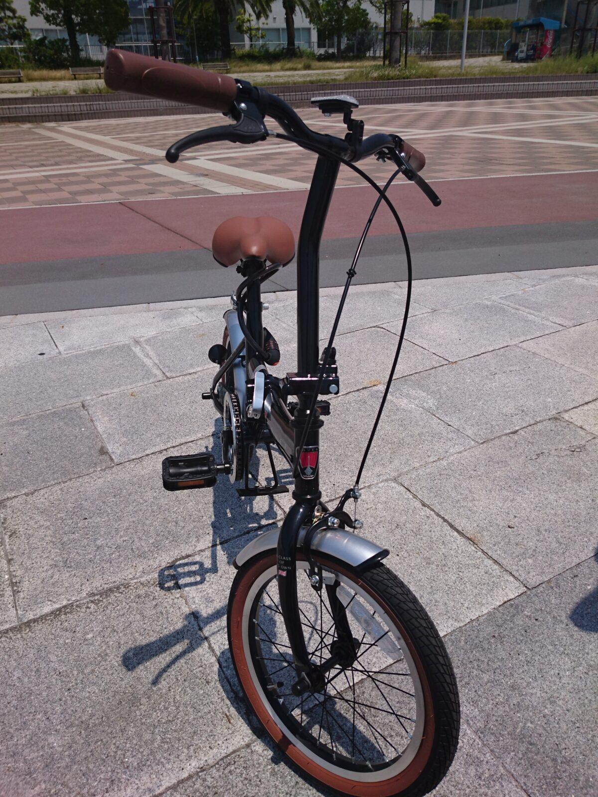 手軽な移動折り畳み自転車で情報収集